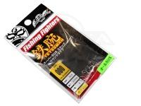 フィッシングファイターズ スナップ - スーパーSUSラウンドタイプ シルバー #000 35lb