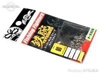 フィッシングファイターズ スナップ - スーパーSUSラウンドタイプ シルバー #00 50lb