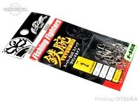 フィッシングファイターズ スナップ - スーパーSUSラウンドタイプ シルバー #2 100lb