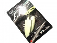 オンスタックルデザイン ZZヘッド -  1.5oz グロー 1.5oz 推奨フック太軸トレブル1/0以上