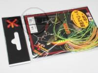 LSDデザイン スピナーベイト - スタンガンジュニア #16 ブラックファイヤータイガー 1/8oz ダブルウィロー