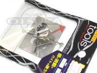 LSDデザイン ペラ - バズスピナー シルバー サイズ2