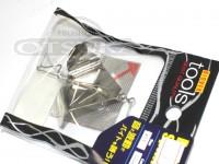 LSDデザイン ペラ - バズスピナー シルバー 3.5サイズ