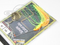 LSDデザイン スピナーベイト - スタンガンジュニア #4 ファイヤータイガー 1/8oz シングルコロラド