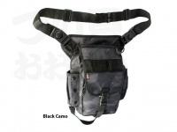 LSDデザイン ワンショットフットバッグ -  #ブラックカモ