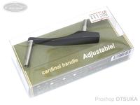 IOSファクトリー カーディナルハンドル -  #マッドブラック 50mm or 55mm アジャスタブル機能
