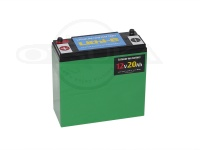 オリジナル リチウムイオンバッテリー - リチビー 12Vモデル - 20Ah 181×76×166 2.5kg