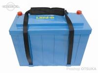 オリジナル リチウムイオンバッテリー - リチビー 12Vモデル - 200Ah 347×155×270(mm) 22kg