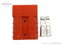 オリジナル コネクター - アンダーソン(正規品)片側セット オレンジ 8sq