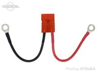 オリジナル コネクター - アンダーソン(正規品) バッテリー配線付き オレンジ 8sq/M12