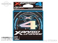 YGK よつあみ Xブレイド アップグレード X-4 - 150m巻 #オーキッドホワイト85cm/ウルゲソピンク15cm 1.2号 20lb