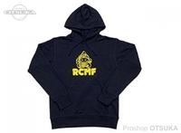 RCMF ラーメンカレーミュージックフィッシング パーカー ご予約商品 ヘロさんRCMFかぶりパーカー