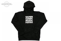 RCMF ラーメンカレーミュージックフィッシング パーカー ご予約商品 RCMFローマ字かぶりパーカー