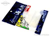 一誠 海太郎 ワーム - スパテラ 1.5インチ #活白 1.5インチ
