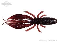 ルーディーズ ハタ喰い 蝦 -  3.0インチ #赤エビ 3.0インチ