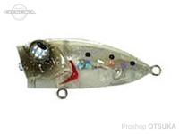 ルーディーズ メバポッパーZ -  #シラス/シルバーラメ 35mm 3.5g フックサイズ#16