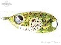 ルーディーズ 魚子メタル - ひらり 1.0g #チャートスポットグロー 1.0g フックサイズ#10・#12