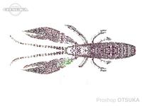 ルーディーズ ハタ喰い 蝦 -  3.0インチ #ちらつきグロー桜 3.0インチ