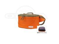 ボトムアップ タックルバッグ - インテイク #オレンジカーキ タテ約16cm×ヨコ約27.5cm×マチ約10cm