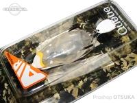 ディープフォレスト フロッグ - キューエアー #021 Pina Colada 約48mm、ノーウエイトモデル