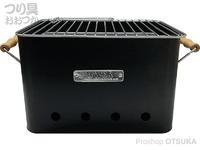 TRI スロウワー - BBQ ストーブアルタ #ブラック ラージ 320×210×210mm