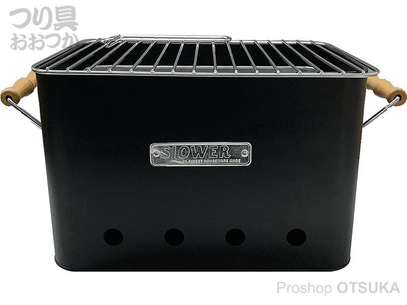 TRI スロウワー BBQ ストーブアルタ ラージ 320×210×210mm #ブラック