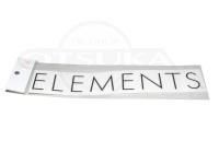 エレメンツ カッティングステッカー -  #ブラック 260mm