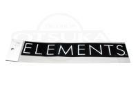 エレメンツ カッティングステッカー -  #ホワイト 260mm
