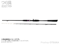 ピュアテック ゴクエボリューション - テンヤタチウオF掛け調子  全長1.95m 自重161g 錘負荷30-60号