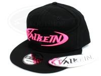ヴァルケイン フラットキャップ -  #ブラック/蛍光ピンク フリー