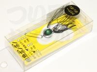 C.Cベイツ 根魚ボンボン -  黒鯛カラー #グリーンマジョーラ 3.5g