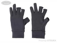 リトルプレゼンツ スパンデックス3Fレスグローブ - AC-103 #ブラック フリーサイズ