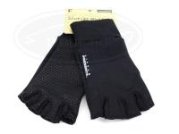 リトルプレゼンツ スパンデックス5Fレスグローブ - AC-104 #ブラック フリーサイズ