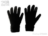 リトルプレゼンツ ウィンタードライグローブ - AC-125 #ブラック Lサイズ