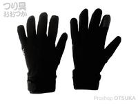 リトルプレゼンツ ウィンタードライグローブ - AC-125 #ブラック XLサイズ