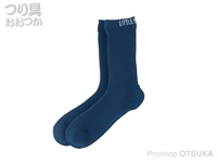 リトルプレゼンツ 透湿防水ニットソックス - AC-127 #ブルー M(24~26cm)