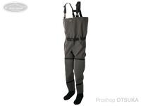 リトルプレゼンツ N3ハイブリッドウェーダー - W-51 #オリーブグレイ JP:M(25~26cm)