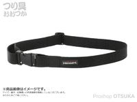 リトルプレゼンツ パワーベルト - AC-133 #ブラック 48mm サイズ75~120cm