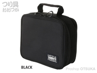 リトルプレゼンツ セミハードタックルケースM - AC-106 #ブラック H22×W26×D11cm