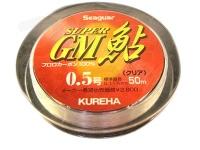 クレハ シーガー スーパーGM鮎 - 50m単品 クリア 0.2号
