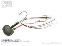 マルキュー エコギア オーバルテンヤ - オーバルテンヤ3号 T06 オリーブグリーン 3号(10g) フックサイズM