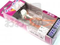 マルキュー エコギア オーバルテンヤ - オーバルテンヤ5号 T01 オレンジグロウ 5号(18g) フックサイズM