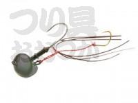 マルキュー エコギア オーバルテンヤ - オーバルテンヤ5号 T06 オリーブグリーン 5号(18g) フックサイズM