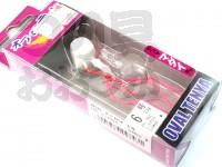 マルキュー エコギア オーバルテンヤ - オーバルテンヤ6号 T02 ピンクグロウ 6号(23g) フックサイズM