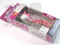 マルキュー エコギア オーバルテンヤ - オーバルテンヤ8号 T02 ピンクグロウ 28g フックサイズM