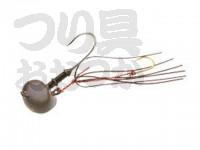 マルキュー エコギア オーバルテンヤ - オーバルテンヤ8号 T07 デザートブラウン 8号(28g) フックサイズM