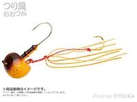 マルキュー エコギア オーバルテンヤ - オーバルテンヤ3号 T11 リアルホヤオレンジ 3号(10g) フックサイズM