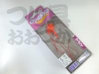 マルキュー エコギア オーバルテンヤ - オーバルテンヤ5号 #T14 マットピンク 5号(18g) フックサイズM