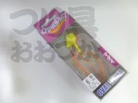 マルキュー エコギア オーバルテンヤ - オーバルテンヤ6号 #T10 オレンジマット 6号(23g) フックサイズM