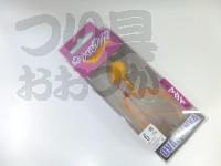 マルキュー エコギア オーバルテンヤ - オーバルテンヤ6号 #T11 リアルホヤオレンジ 6号(23g) フックサイズM
